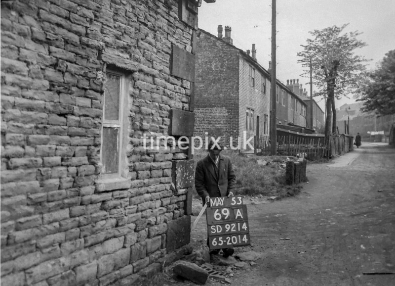 SD921469A, Ordnance Survey Revision Point photograph in Greater Manchester