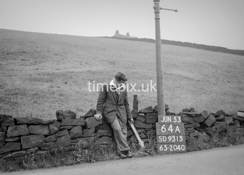 SD931564A, Ordnance Survey Revision Point photograph in Greater Manchester