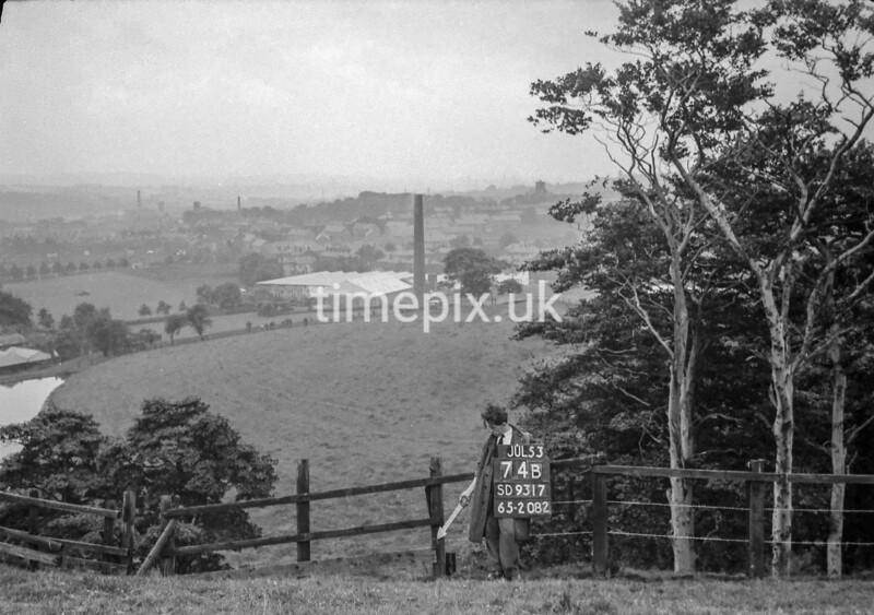 SD931774B, Ordnance Survey Revision Point photograph in Greater Manchester