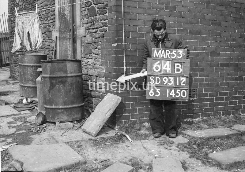 SD931264B, Ordnance Survey Revision Point photograph in Greater Manchester