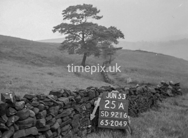SD921625A, Ordnance Survey Revision Point photograph in Greater Manchester
