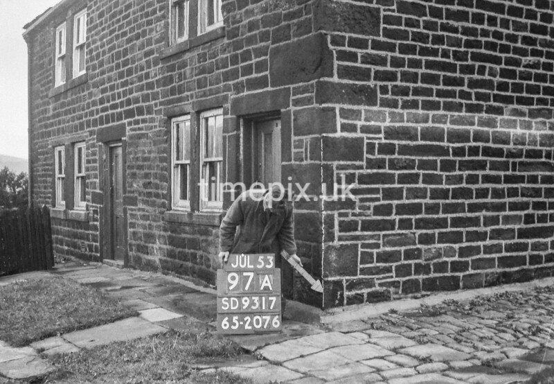 SD931797A, Ordnance Survey Revision Point photograph in Greater Manchester