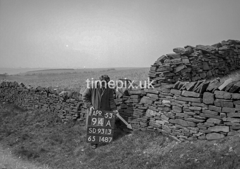 SD931394A, Ordnance Survey Revision Point photograph in Greater Manchester