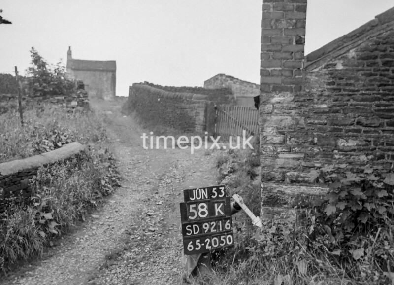 SD921658K, Ordnance Survey Revision Point photograph in Greater Manchester