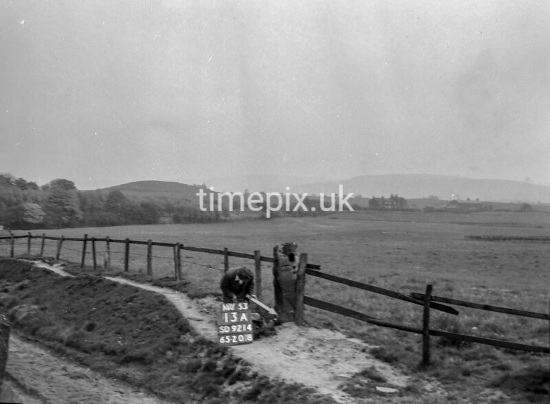 SD921413A, Ordnance Survey Revision Point photograph in Greater Manchester