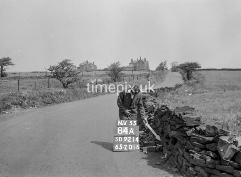 SD921484A, Ordnance Survey Revision Point photograph in Greater Manchester
