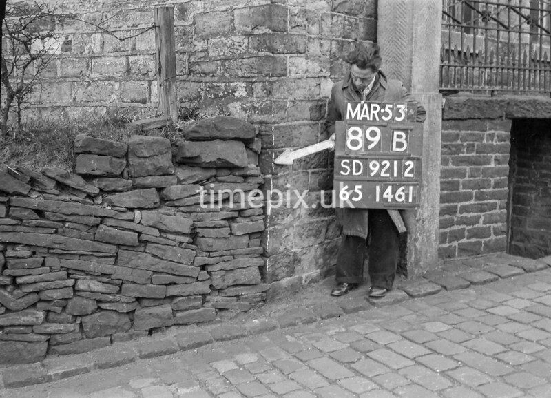 SD921289B, Ordnance Survey Revision Point photograph in Greater Manchester