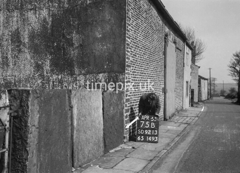 SD921375B, Ordnance Survey Revision Point photograph in Greater Manchester