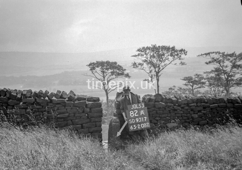 SD931782A, Ordnance Survey Revision Point photograph in Greater Manchester