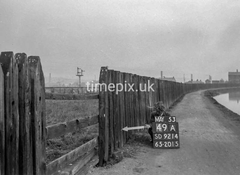 SD921449A, Ordnance Survey Revision Point photograph in Greater Manchester