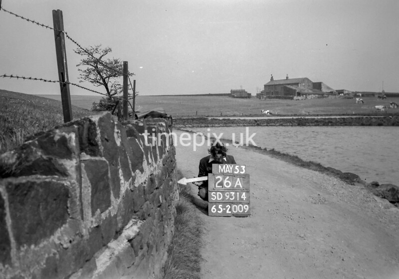 SD931426A, Ordnance Survey Revision Point photograph in Greater Manchester
