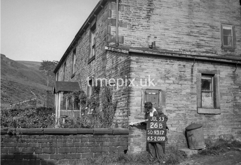 SD931726B, Ordnance Survey Revision Point photograph in Greater Manchester