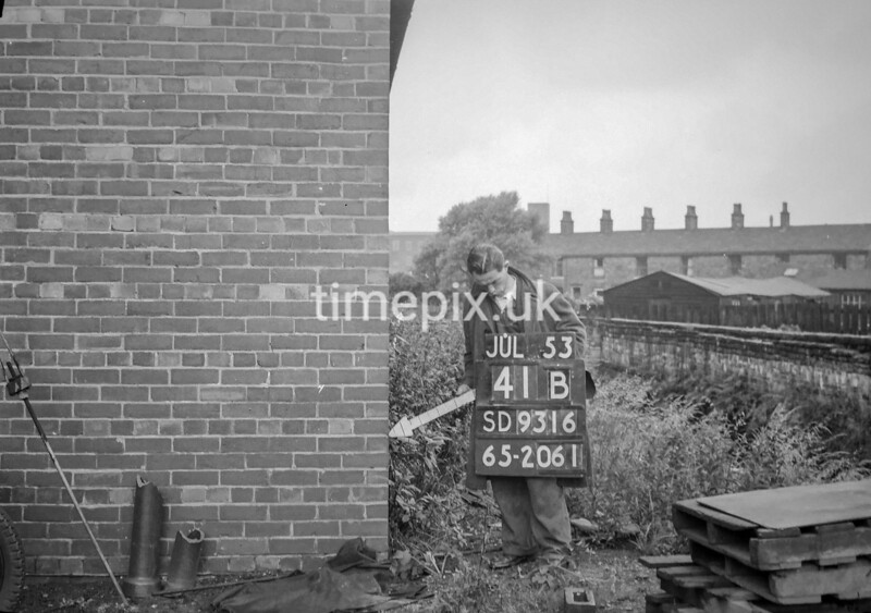 SD931641B, Ordnance Survey Revision Point photograph in Greater Manchester