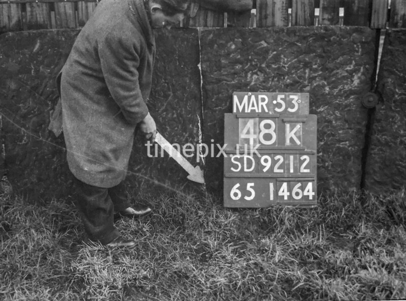 SD921248K, Ordnance Survey Revision Point photograph in Greater Manchester