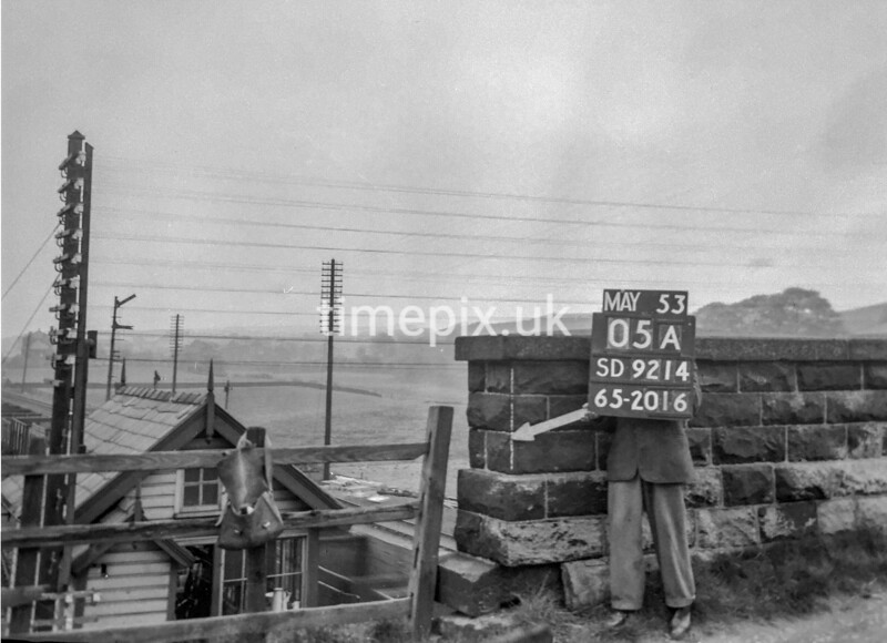 SD921405A, Ordnance Survey Revision Point photograph in Greater Manchester