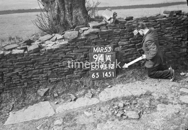 SD931294A, Ordnance Survey Revision Point photograph in Greater Manchester
