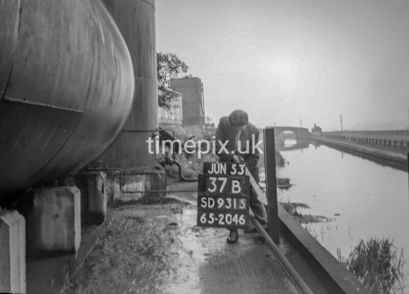 SD931537B, Ordnance Survey Revision Point photograph in Greater Manchester
