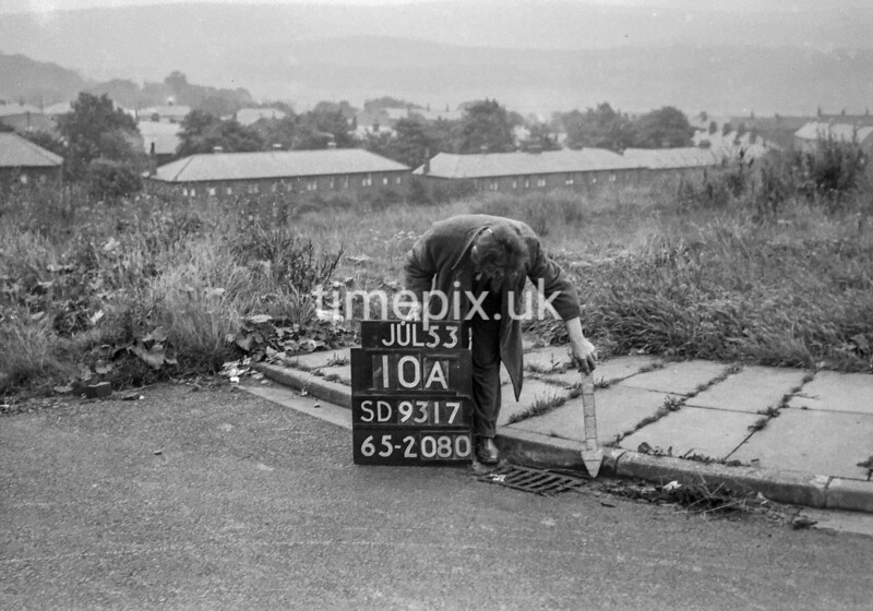 SD931710A, Ordnance Survey Revision Point photograph in Greater Manchester