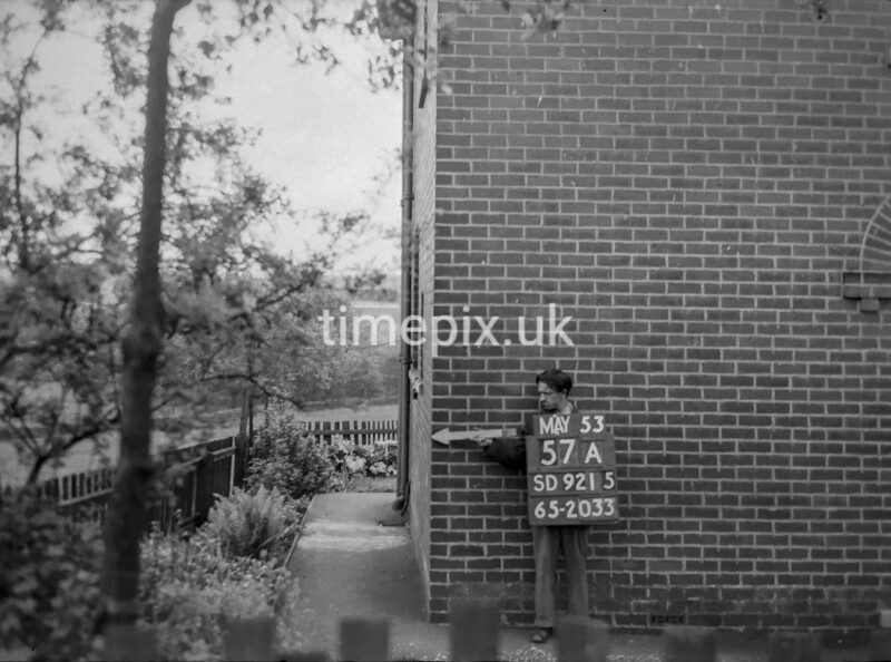 SD921557A, Ordnance Survey Revision Point photograph in Greater Manchester