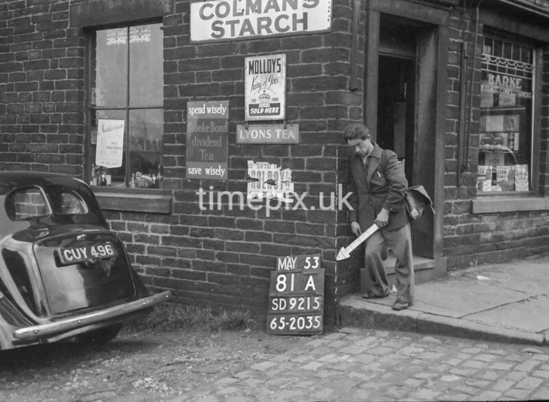 SD921581A, Ordnance Survey Revision Point photograph in Greater Manchester