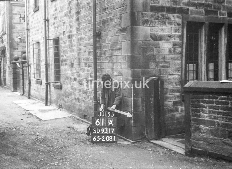 SD931761A, Ordnance Survey Revision Point photograph in Greater Manchester