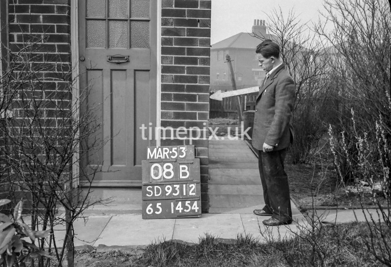 SD931208B, Ordnance Survey Revision Point photograph in Greater Manchester