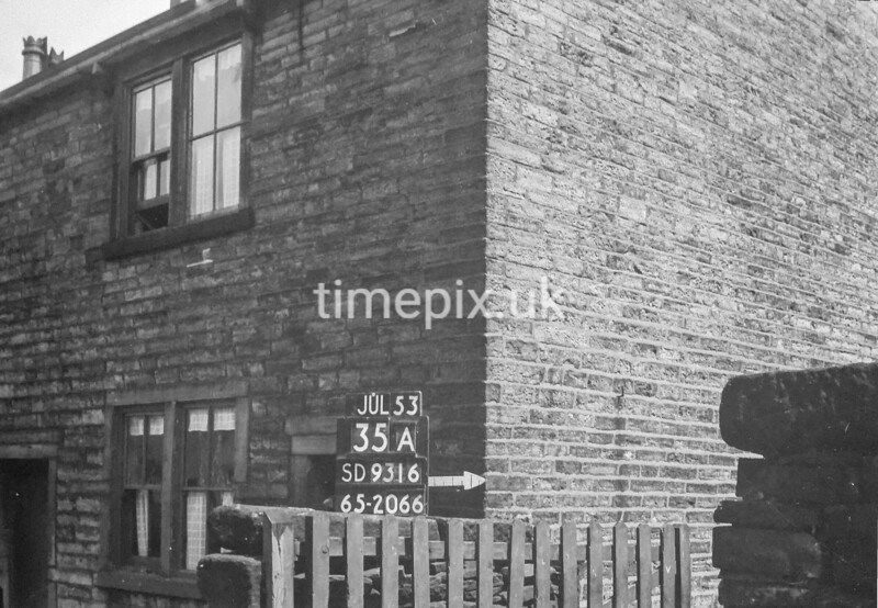 SD931635A, Ordnance Survey Revision Point photograph in Greater Manchester