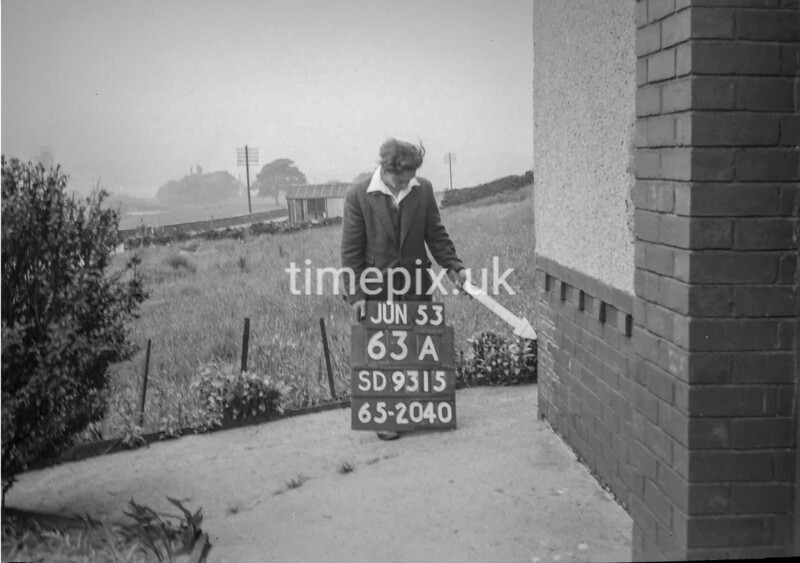 SD931563A, Ordnance Survey Revision Point photograph in Greater Manchester