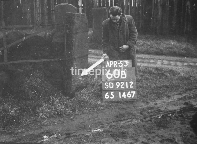 SD921260B, Ordnance Survey Revision Point photograph in Greater Manchester