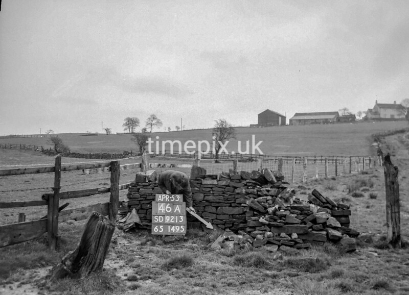 SD921346A, Ordnance Survey Revision Point photograph in Greater Manchester