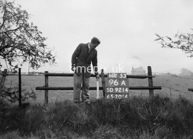 SD921496A, Ordnance Survey Revision Point photograph in Greater Manchester