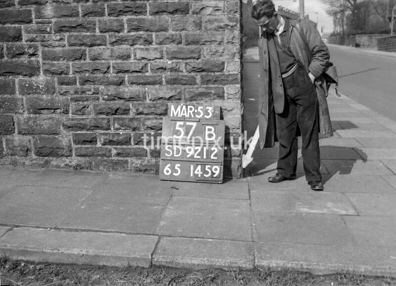 SD921257B, Ordnance Survey Revision Point photograph in Greater Manchester