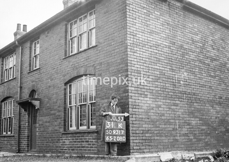 SD931731K, Ordnance Survey Revision Point photograph in Greater Manchester