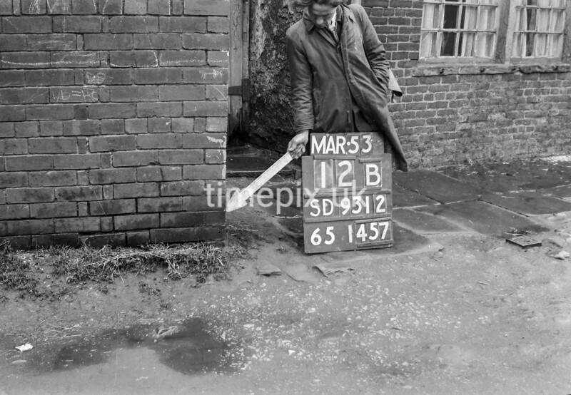 SD931212B, Ordnance Survey Revision Point photograph in Greater Manchester