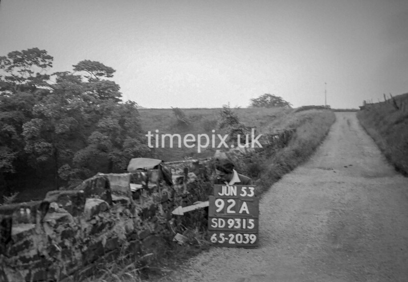 SD931592A, Ordnance Survey Revision Point photograph in Greater Manchester
