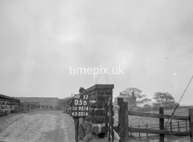 SD921405B, Ordnance Survey Revision Point photograph in Greater Manchester