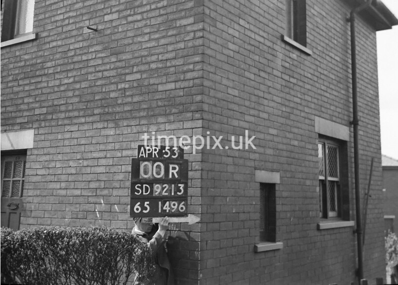 SD921300R, Ordnance Survey Revision Point photograph in Greater Manchester