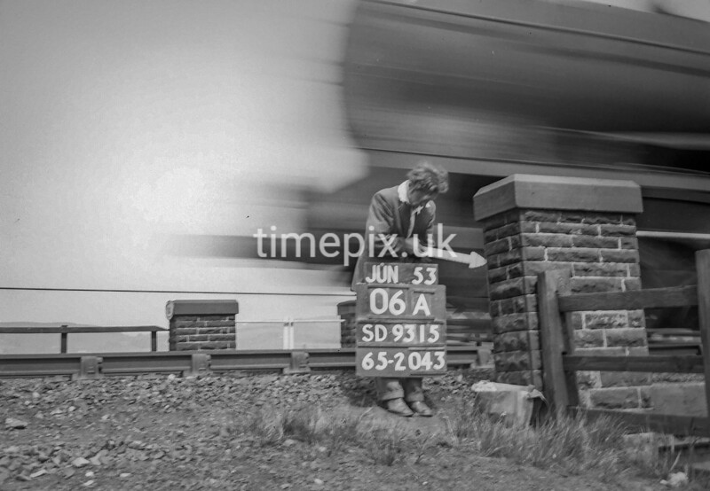 SD931506A, Ordnance Survey Revision Point photograph in Greater Manchester