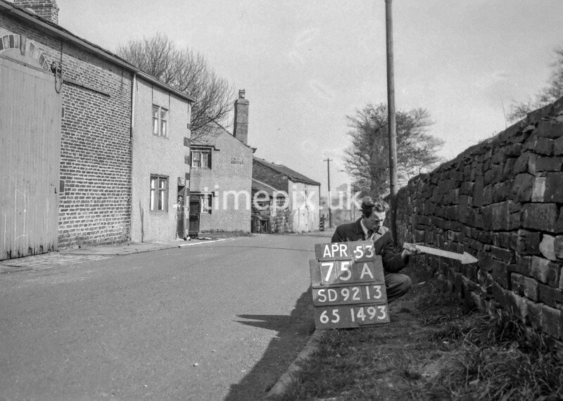 SD921375A, Ordnance Survey Revision Point photograph in Greater Manchester