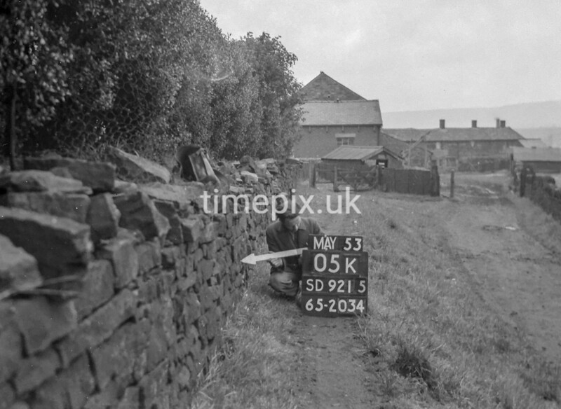 SD921505K, Ordnance Survey Revision Point photograph in Greater Manchester