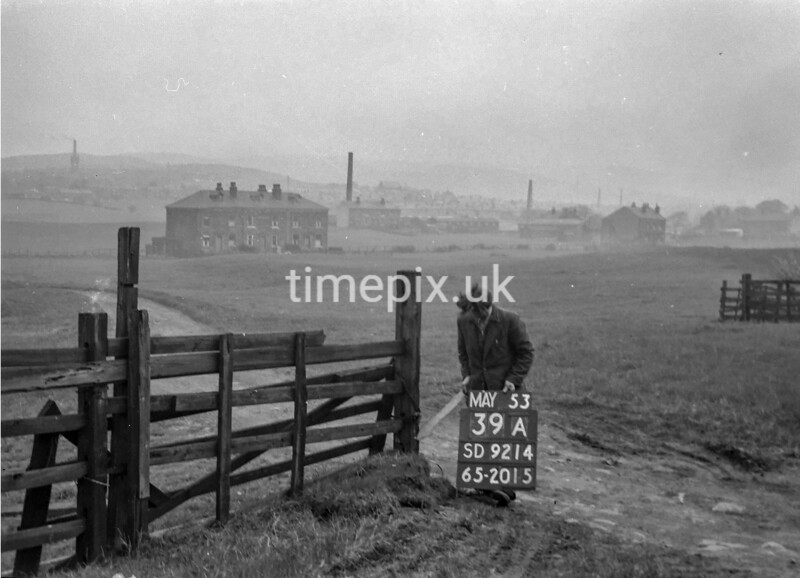 SD921439A, Ordnance Survey Revision Point photograph in Greater Manchester