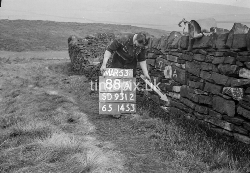SD931288A, Ordnance Survey Revision Point photograph in Greater Manchester