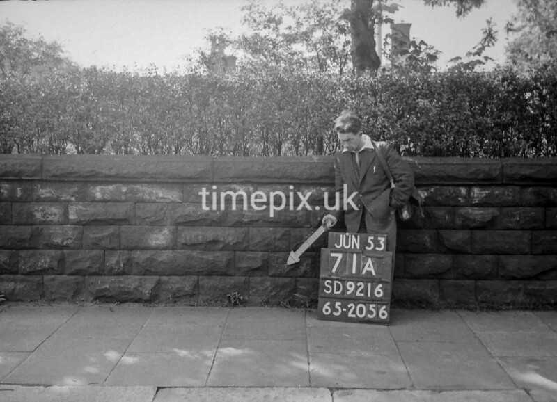 SD921671A, Ordnance Survey Revision Point photograph in Greater Manchester