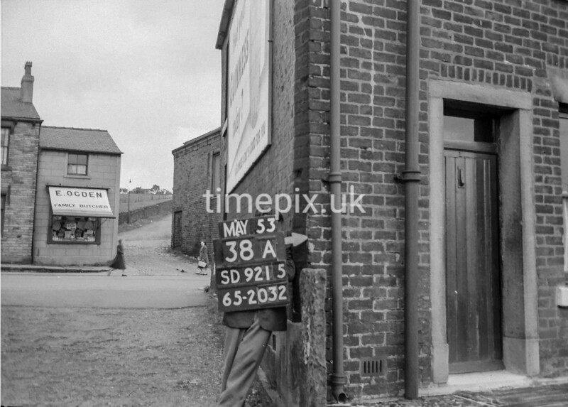 SD921538A, Ordnance Survey Revision Point photograph in Greater Manchester