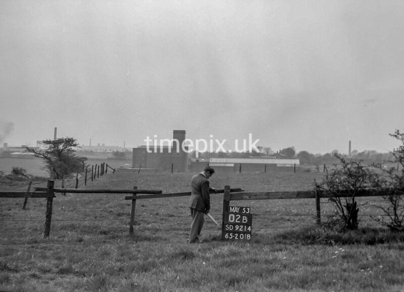 SD921402B, Ordnance Survey Revision Point photograph in Greater Manchester