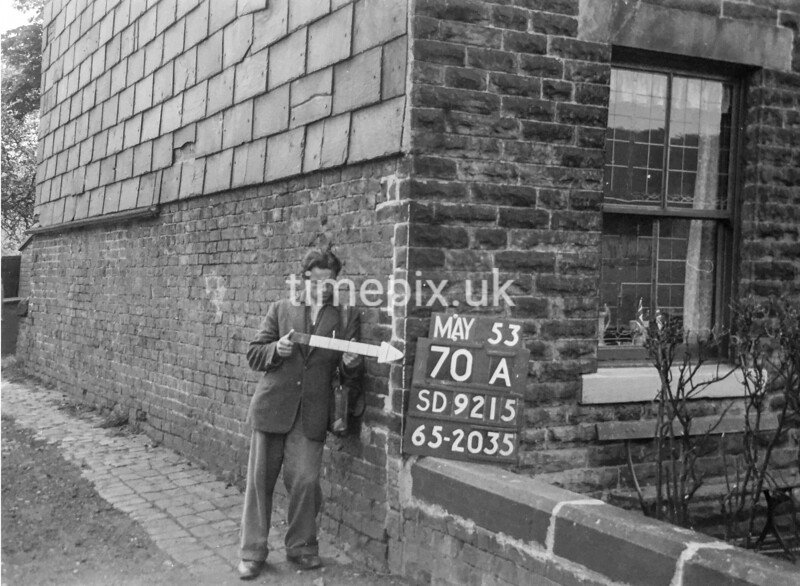 SD921570A, Ordnance Survey Revision Point photograph in Greater Manchester