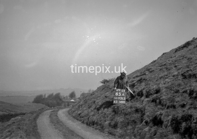SD931365A, Ordnance Survey Revision Point photograph in Greater Manchester