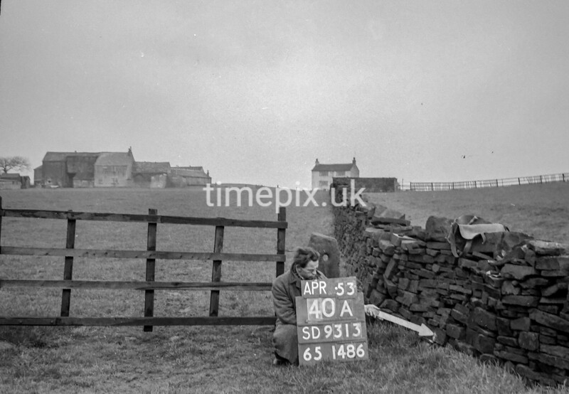 SD931340A, Ordnance Survey Revision Point photograph in Greater Manchester