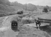 SD941641W, Man marking Ordnance Survey minor control revision point with an arrow in 1950s