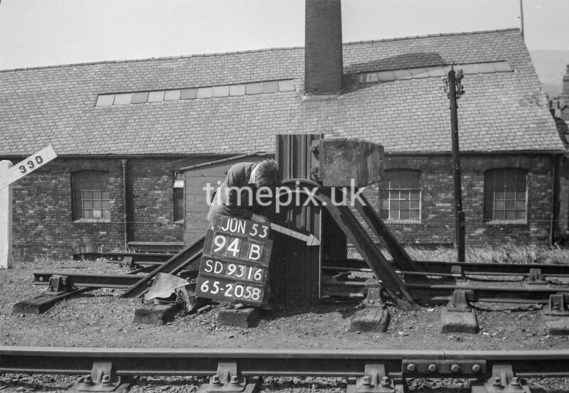 SD931694B, Ordnance Survey Revision Point photograph in Greater Manchester